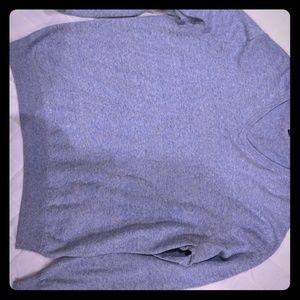 J Crew Mens Slim Rugged Baby Blue sweater XL